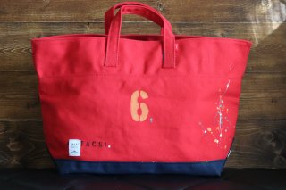 "CARRY BAG <br>CottonTote  ""No 6""<br>Red<br><img class='new_mark_img2' src='https://img.shop-pro.jp/img/new/icons5.gif' style='border:none;display:inline;margin:0px;padding:0px;width:auto;' />"