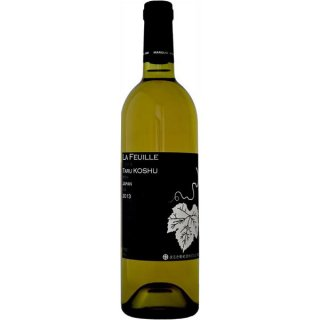 <img class='new_mark_img1' src='https://img.shop-pro.jp/img/new/icons1.gif' style='border:none;display:inline;margin:0px;padding:0px;width:auto;' />まるき葡萄酒 ラフィーユ 樽甲州 [2014] 750ml ※12本まで1個口で発送可能