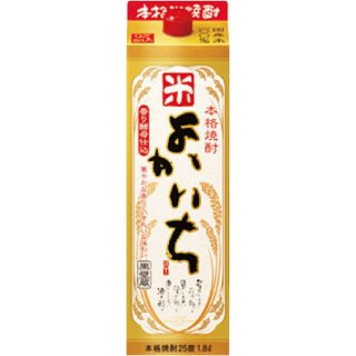 宝(タカラ)酒造 よかいち 【米】 紙パック 1800ml ※6本まで1個口で発送可能
