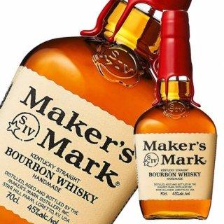 【ハロウィングラス付】メーカーズマーク レッドトップ 700ml 45度 バーボン ウイスキー Maker'sMark