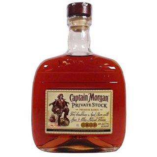 <img class='new_mark_img1' src='https://img.shop-pro.jp/img/new/icons1.gif' style='border:none;display:inline;margin:0px;padding:0px;width:auto;' />キャプテン モルガン プライべートストック 40度 並行品 1000ml ラム Captain Morgan