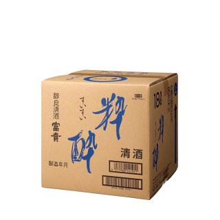 【日本酒 18L】富貴 粋酔(すいすい) バックインボックス 18000ml 【業務用】【大容量】BIB