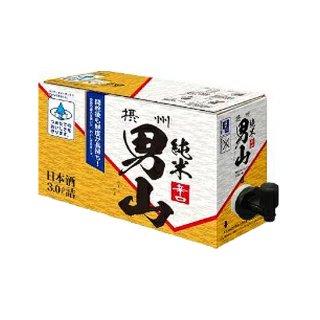 【日本酒 3L】摂州男山純米 バックインボックス 3000ml 【業務用】BIB