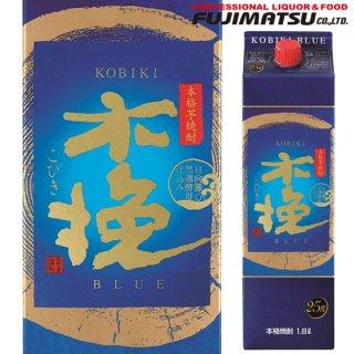雲海酒造 木挽 BLUE (ブルー) 25度 1800ml 紙パック 芋焼酎 宮崎県