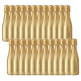 【送料無料】ボッテガ スプマンテ・ブリュット ゴールド 200ml×24本※1個口で発送