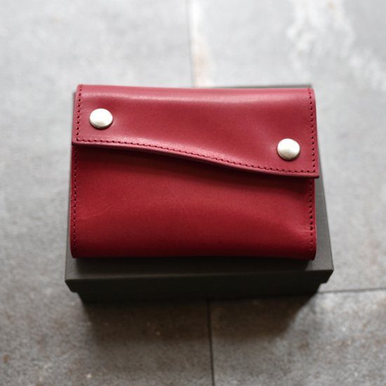 0nff0 / Trifold Leather Wallet