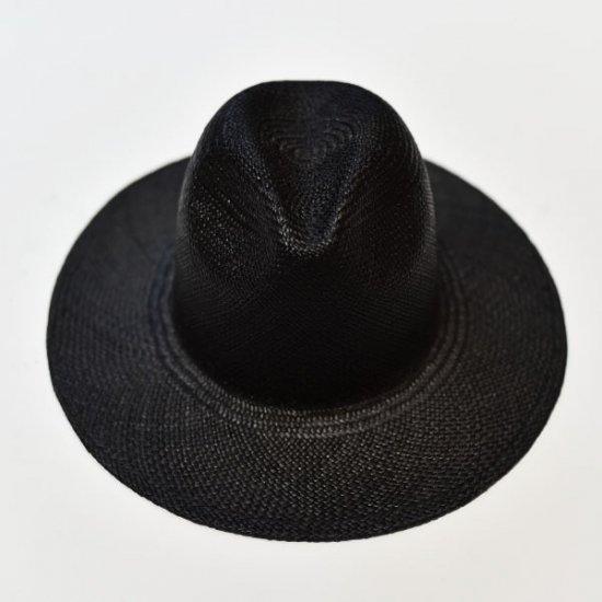 Classic BLACK PANAMA HAT