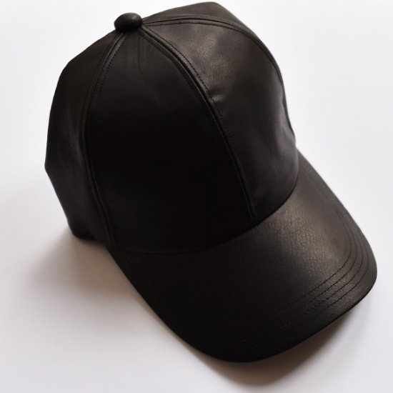 ALL LEATHER CAP