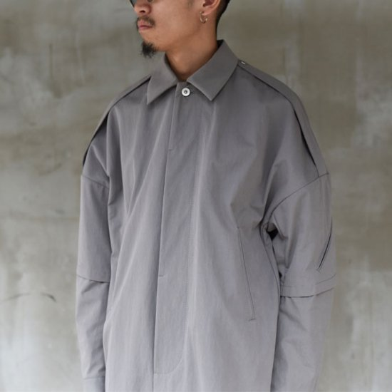 rin / Work Balmacaan Coat