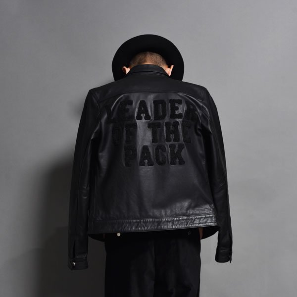 Art Comes First / Avec Ces Freres / Western Leather Jacket