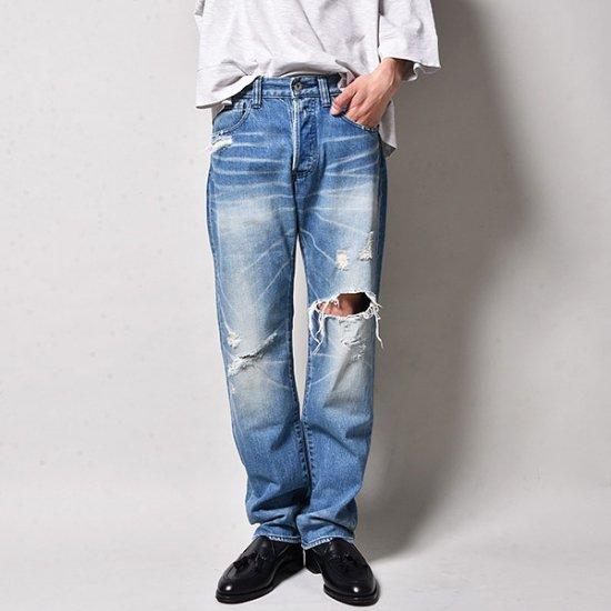 メンズファッションrin /  Vintage Crash Slim Denim
