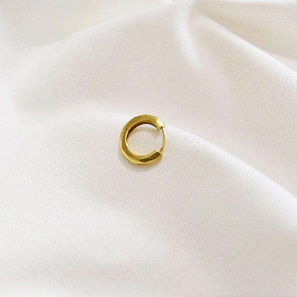 rin / K18 Yellow Gold Pierce