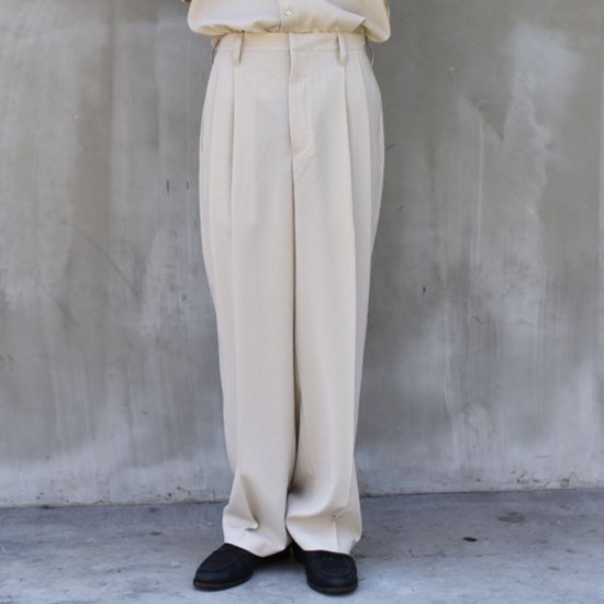 rin Stripe Over Long Slacks PT