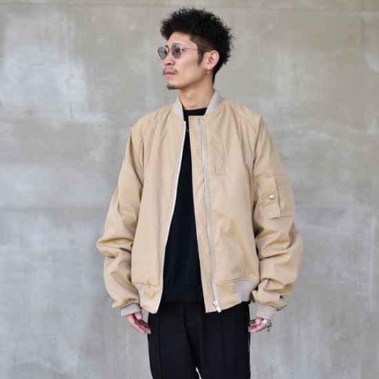 rin / 1987s MA-1 Jacket BEI