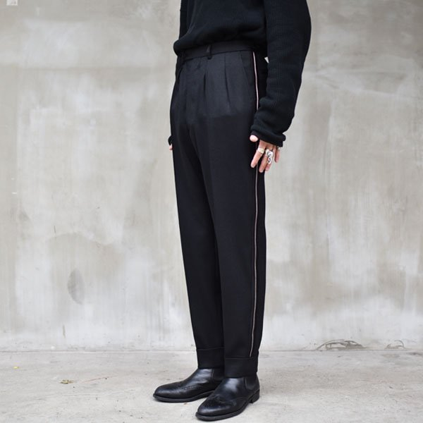 Art Comes First / PLEAT-RIOT TROUSERS
