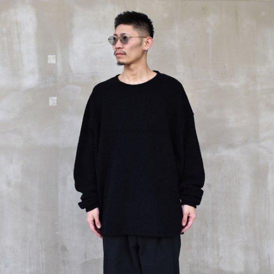 rin / Knit Dolman Sleeve BLACK