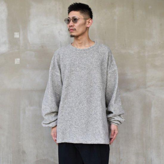 rin / Knit Dolman Sleeve GREY