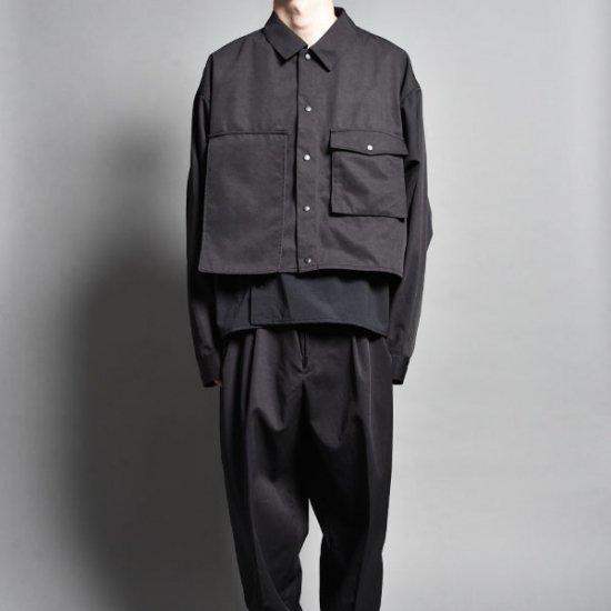 rin / Short Nylon Layer Shirt JKT