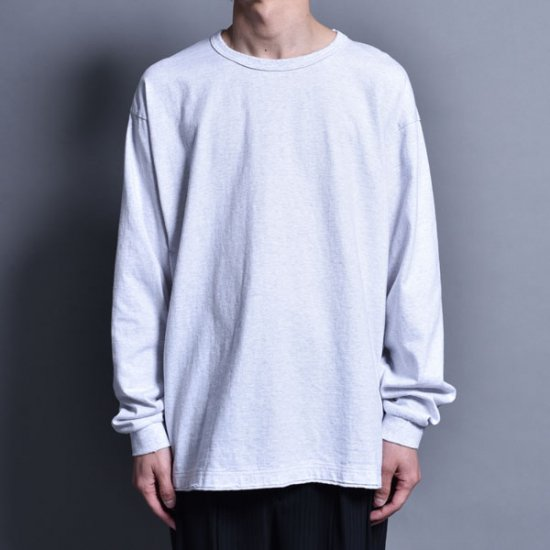 rin / Vintage Wide L/S Tee WH GREY