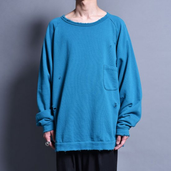 メンズファッションrin / Sweat PK Raglan Sleeve TUR