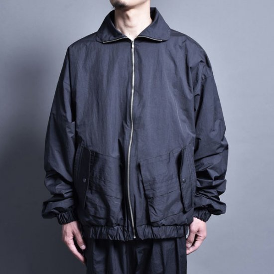 メンズファッションrin / Wide Short Drizzler Jacket CARBON BLACK