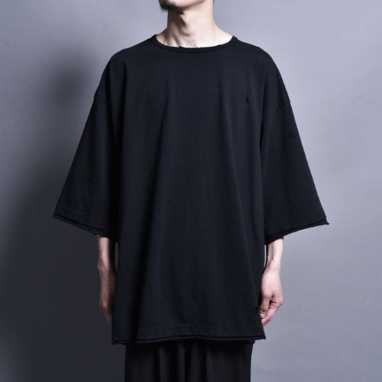 rin / Loose Over S/S Tee BK
