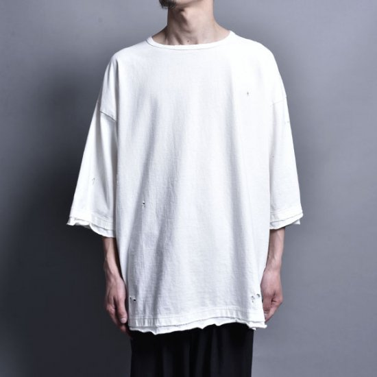 rin / Loose Over S/S Tee WH