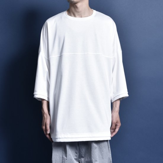 rin / Big Foot S/S Tee WH
