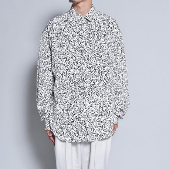rin / Gara Loose L/S Shirt WH