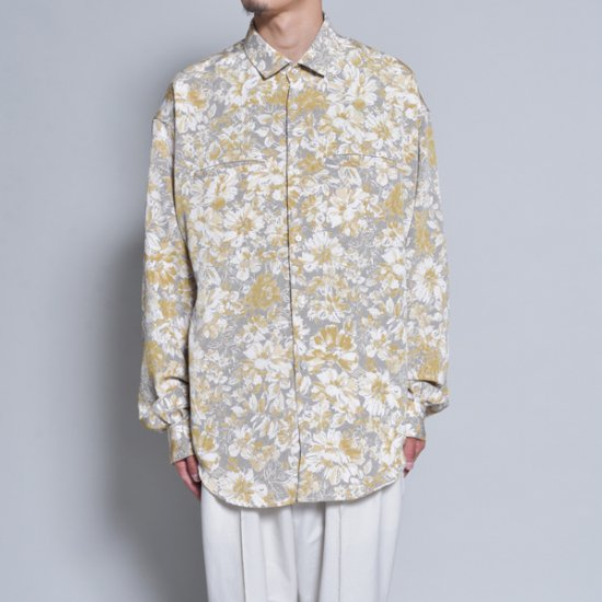 rin / Gara Loose L/S Shirt GOLD