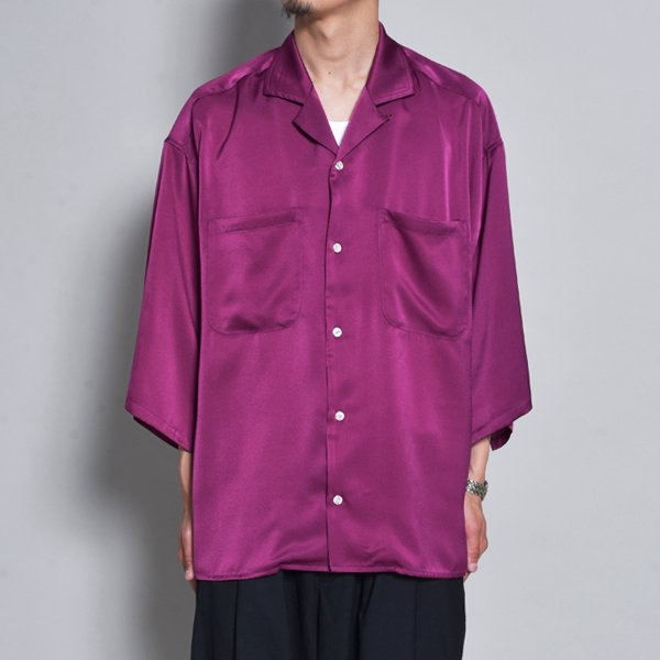 rin / Silky OP Over S/S Shirt PUR
