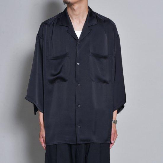 rin / Silky OP Over S/S Shirt BK