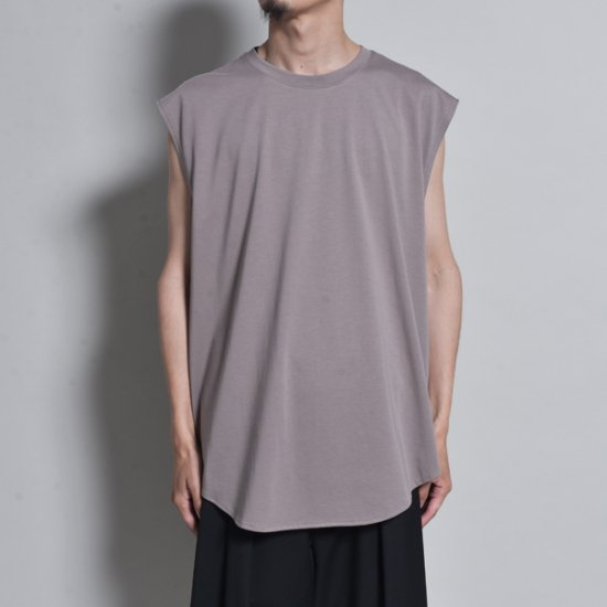 メンズファッションrin / Capsule Cut Tank top DRK GREY