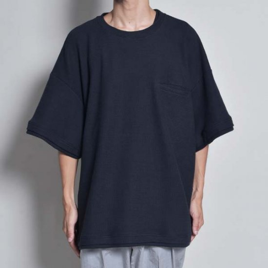 rin / Big Over S/S Tee BK NV