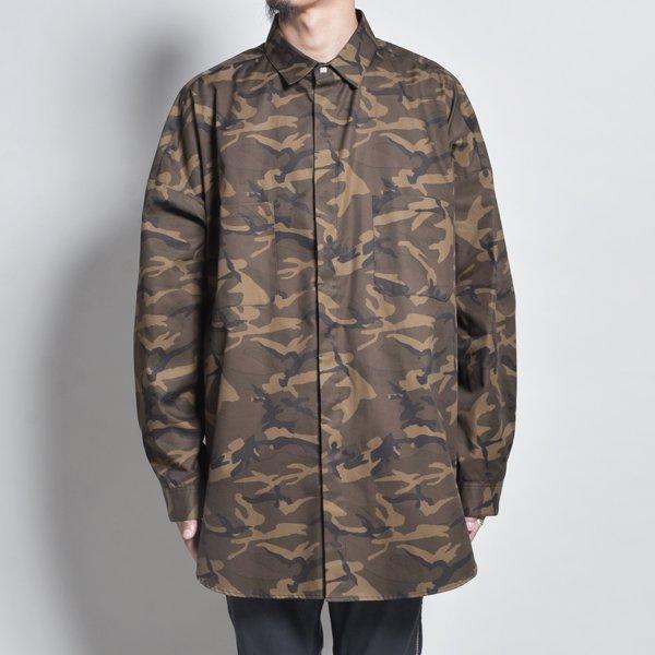 rin / CAMO Big Slit Dolman L/S Shirt