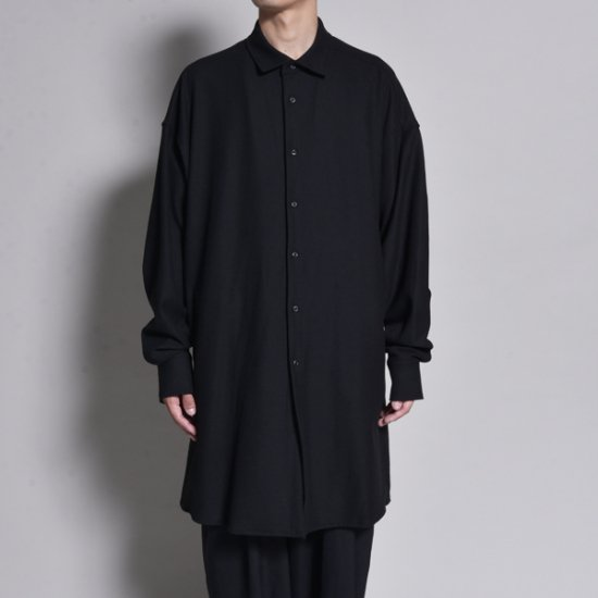 rin / Long Gown L/S Shirt BK