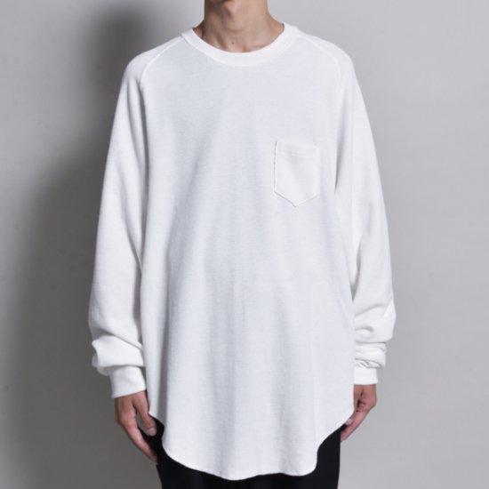 メンズファッションrin / Raglan Thermal Sleeve WH