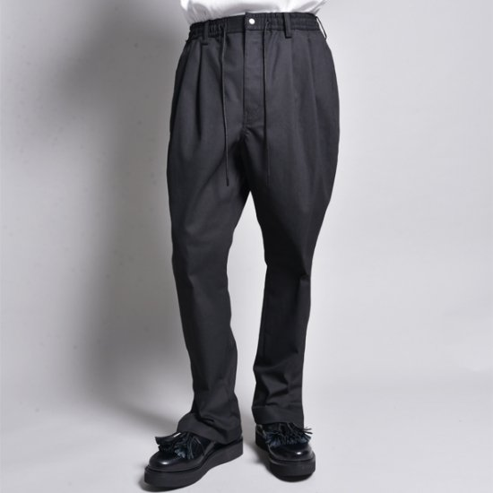rin / Loose Trick Pants BK DENIM COATING