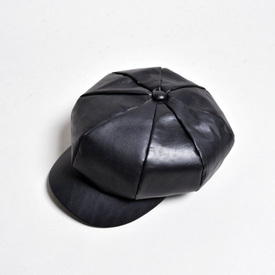 rin / All Leather Casquette Hats