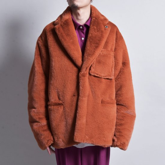 rin / Fur Double Jacket ORG