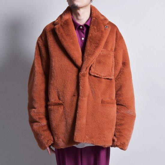 メンズファッションrin / Fur Double Jacket ORG