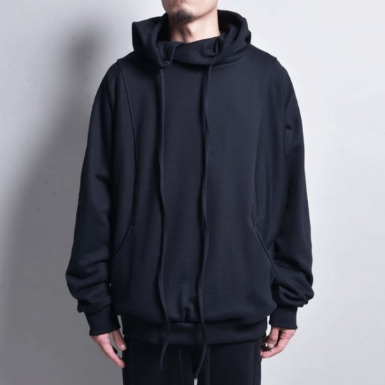 rin /4POCKET EASY HOODIE BLACK