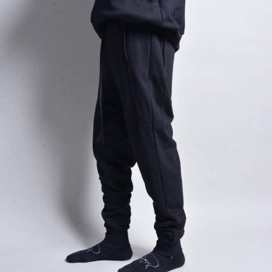 メンズファッションrin / 4POCKET EASY SLIM PANTS BLACK