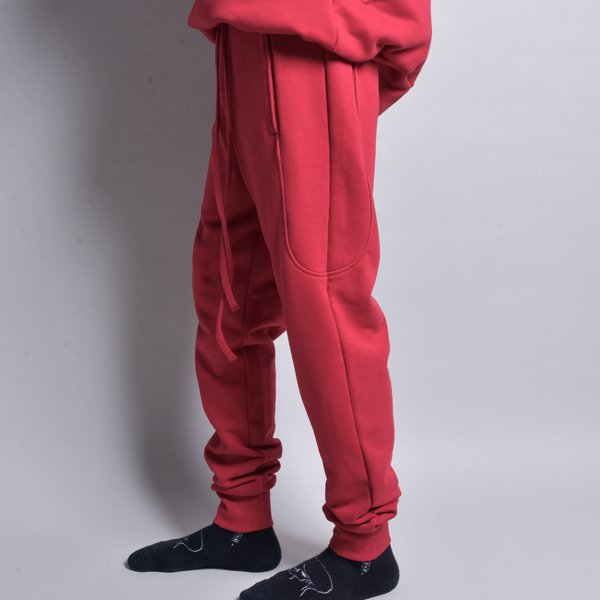 rin / 4POCKET EASY SLIM PANTS RED