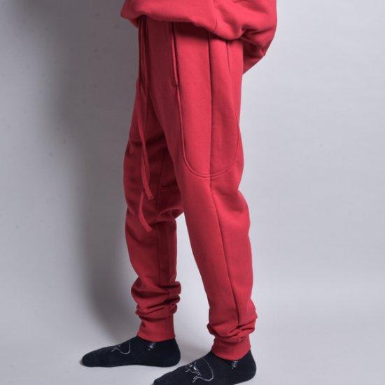 rin / 4POCKET EASY SLIM PANTS RED