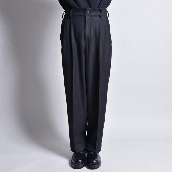 rin / Loose Tuck Slacks Pants BK