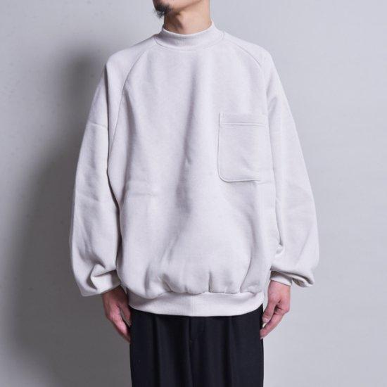 メンズファッションrin / Neck Big Arm Sweat SAND