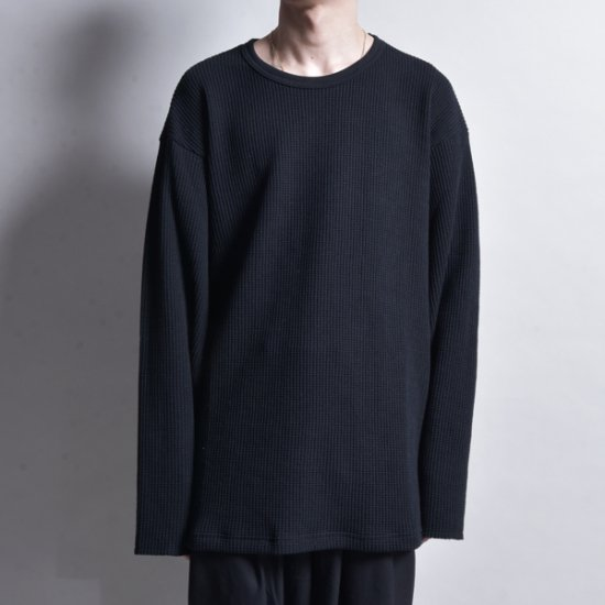 rin / Waffle Thermal L/S BK