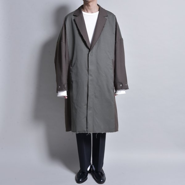 rin / Over Switch Coat OLV