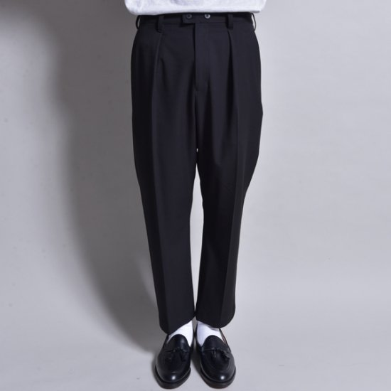 rin / Slim Sick Slacks Pants BK